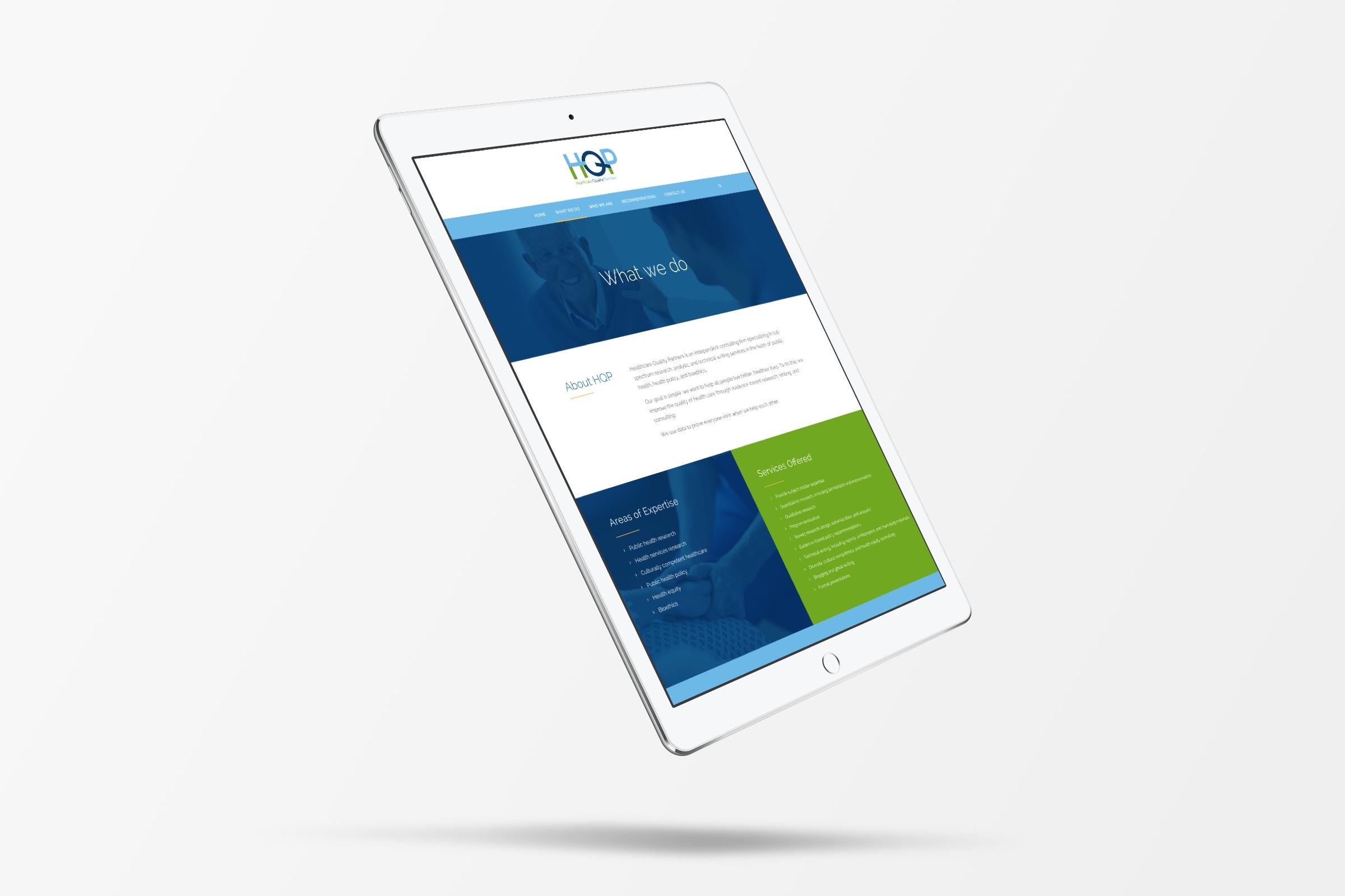 Healthcare Quality Partners Responsive Website