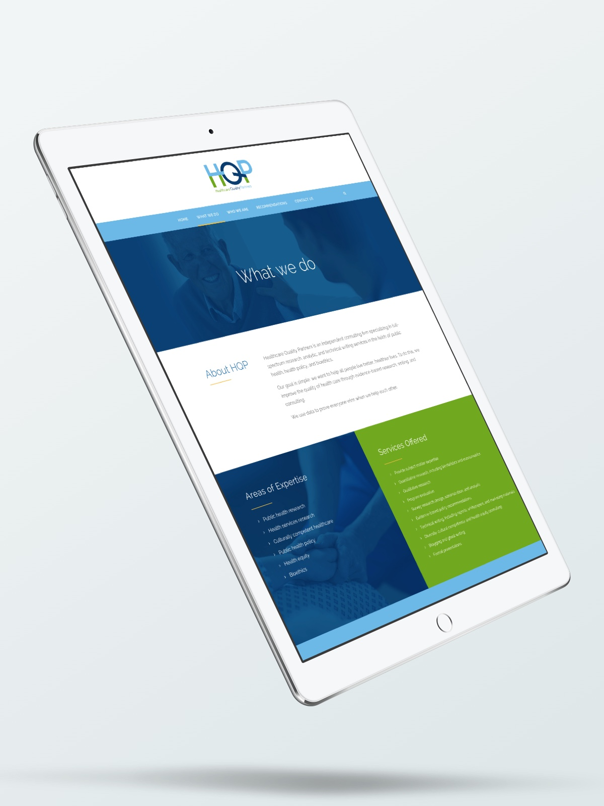 Healthcare Quality Partners Responsive Website