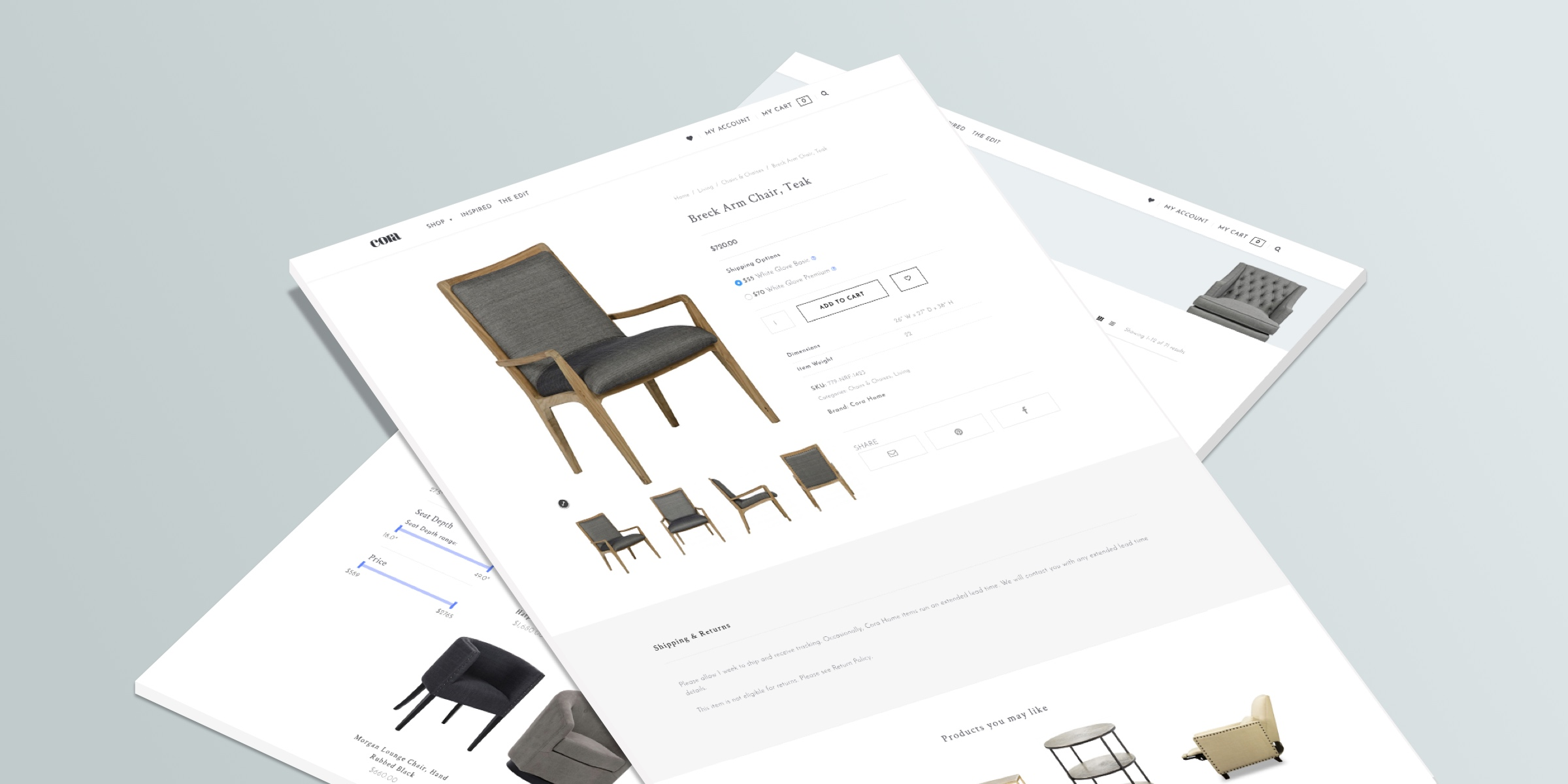Cora Product Page