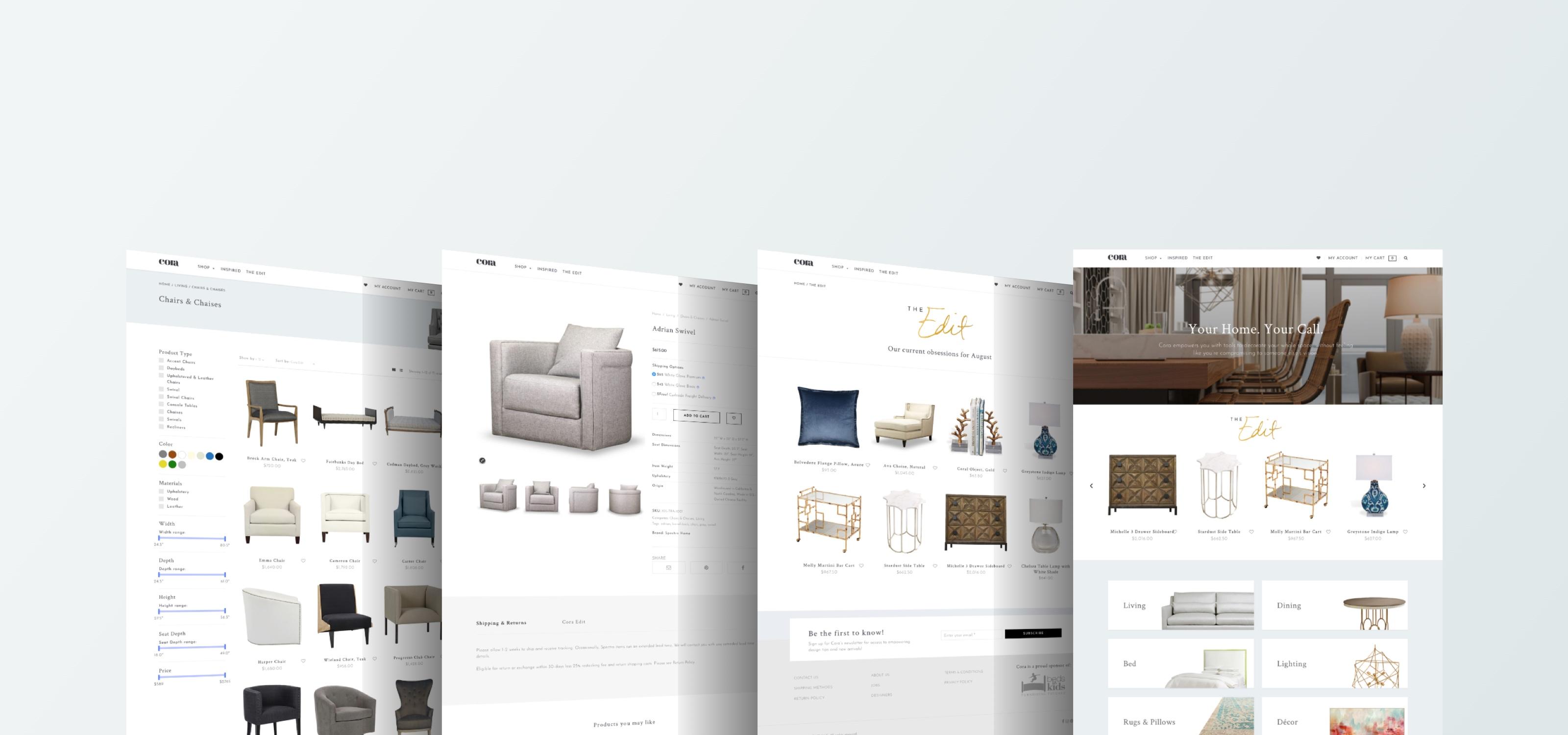 Cora E-Commerce Website