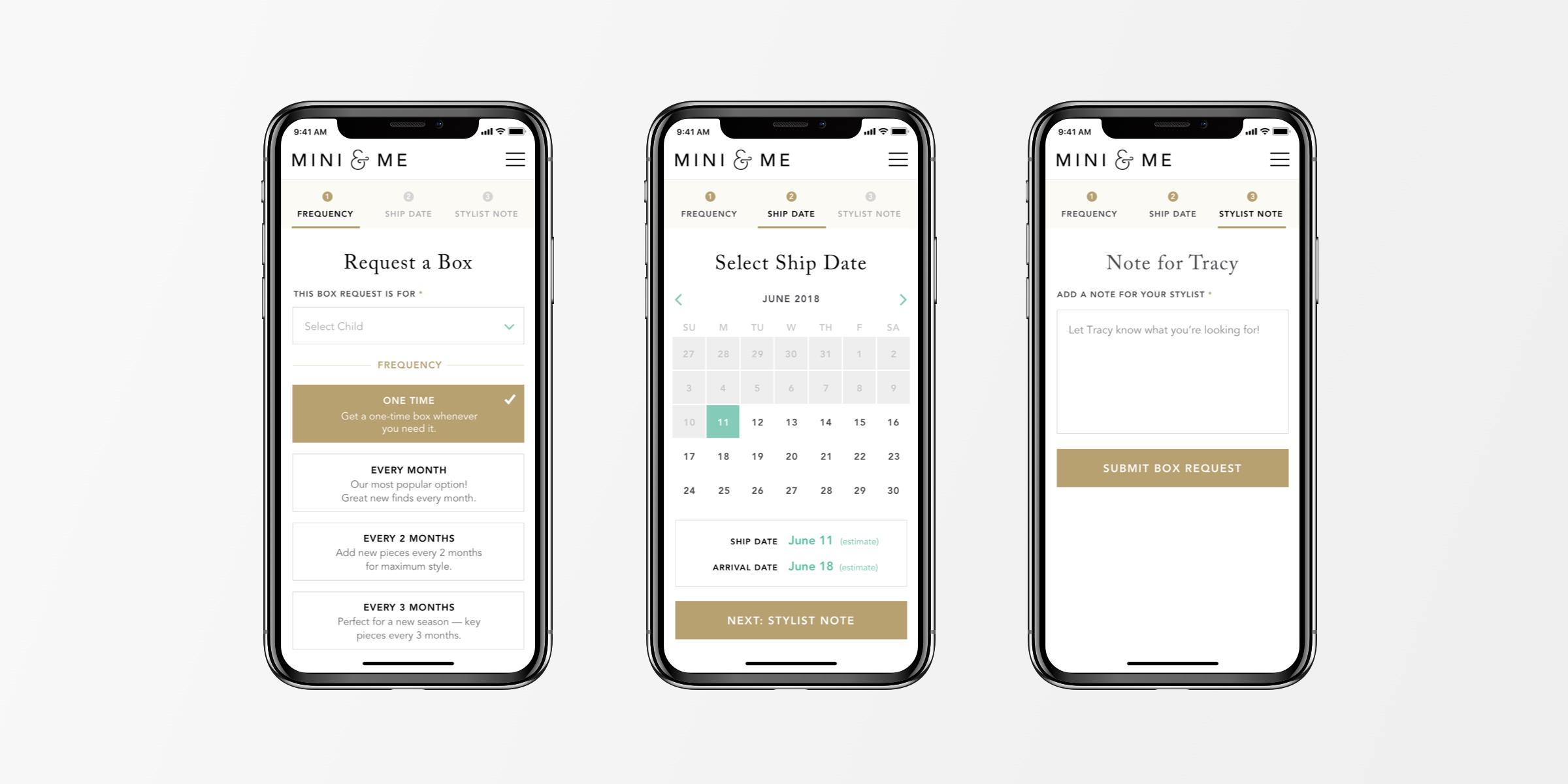 Fashion Mobile App Design